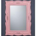 Sephaci Furniture Nástěnné zrcadlo Country Pink