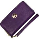 značková peněženka Michael Kors NS Fulton Violet