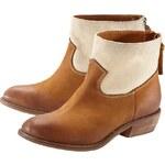 COPO DE NIEVE Ankle Boot, Cowboy-Stil, Materialmix, Reissverschluss hinten