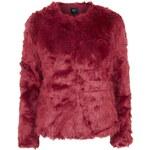 Topshop **Rich 'N' Poor Faux Fur Jacket by Goldie