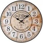 Designové nástěnné hodiny 21439 Lowell 34cm
