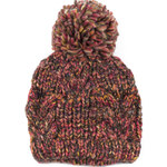 Art of Polo Zimní čepice - hnědo-růžová cz13365.3
