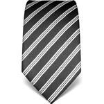 Luxusní kravata Vincenzo Boretti 21945 - antracitová