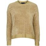 Topshop Soft Knit Textured Sweatshirt