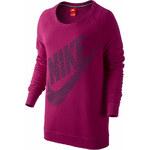 NIKE Mikina, Nike růžová - Normální délka (N)