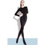 Punčochové kalhoty Fiore Roza 60 den, černá