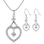 KRYSTYS Souprava šperků Swarovski Elements Amorousness