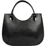 Facebag Elegantní kožená business kabelka 6054