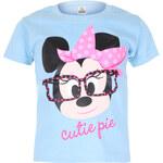 Character Club Dívčí modré tričko s Minnie