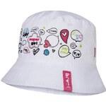 Broel Dívčí klobouček - růžovo-bílý
