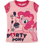 Disney Dívčí tričko My little Ponny - růžové