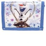 Disney Dívčí peněženka Frozen, bílo - modrá