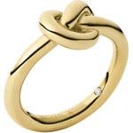 Michael Kors Pozlacený prsten s uzlem MKJ4211710 57 mm