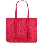Krajková plážová taška - Neonově růžová univerzal