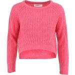 Růžový kratší svetr Vero Moda Salma
