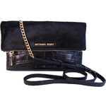 MICHAEL Michael Kors jet set travel haircalf mixedmedia clutch kabelka