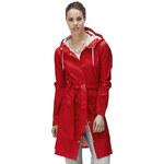 RAINS Red Curve Jacket