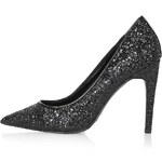 Topshop GEMINI Glitter Court Shoes