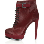 Topshop PRICELESS Premium Leather Boots