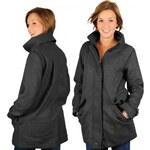 Supreme Being DRIFT Women Winter Jacket Charcoal