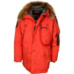 Alpha Industries Polar Down Winter Jacket orange
