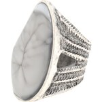 USC Stone Ring Silver S