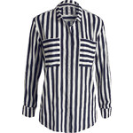 Esprit striped chiffon blouse