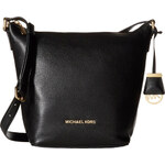 Michael Kors Bedford medium messenger kožená kabelka black