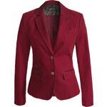 Esprit blazer in baby corduroy + leather