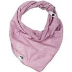 Lamama Dívčí šátek/nákrčník - levandulově žíhaný