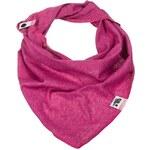 Lamama Dívčí šátek/nákrčník - růžově melírovaný