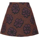 Topshop **Annie Jacquard Skirt by Motel