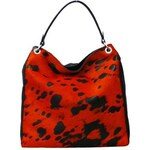 Chlupatá taška Elega Donna – oranžová