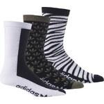 ADIDAS Ponožky Adidas Crew Sock 3P black-night cargo-white