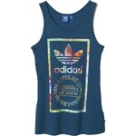 ADIDAS Tílko Adidas Log Label surf petrol