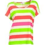 RICK CARDONA RICK CARDONA letní dámské tričko s pruhy, tričko i pro plnoštíhlé , Velikosti normální 34, Značka Rick Cardona, Barva barevná