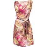 LINEA TESINI LINEA TESINI saténové letní šaty, barevné šaty