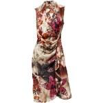 Z BY ZUCCHERO Z BY ZUCCHERO saténové návrhářské šaty, letní barevné šaty