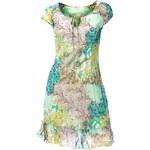LINEA TESINI LINEA TESINI návrhářské letní šaty, šifonové barevné šaty (sklad v.40/42), Velikost 40/42, Značka Linea Tesiny, Barva barevná