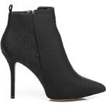 BELLE WOMEN Dámské sexy černé kotníčkové boty, vel. 38