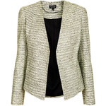 Topshop Tailored Crop Boucle Jacket