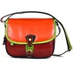 Santo Croce 1928 Unisex kožená kabelka M6806_Multicolor