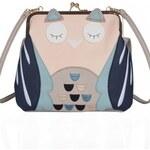 Šedá kabelka Key West Owl