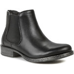 Kotníková obuv s elastickým prvkem CARINII - B1905 Cat.Nero