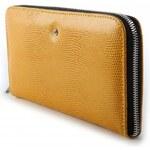 Velká dámská peněženka WOJEWODZIC - WPD61/PC19 Žlutá