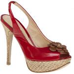 Sandály SOLO FEMME - 36710-01-B57/B24-05-00 Červená