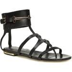 Sandály SOLO FEMME - 42801-01-D08/000-07-00 Černá