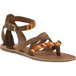 Sandály PEPE JEANS - Basic PLS90003 Nut Brown 877
