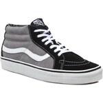 Sneakersy VANS - Mid Relssue VN-0 XIIDZD Black/Frost Gray