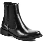 Kotníková obuv s elastickým prvkem ESPERANSA - 1166 Černá